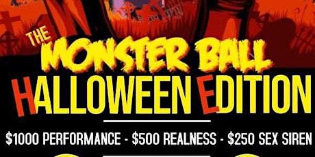 "The Monster Ball ""Halloween Edition"" tickets"