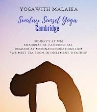 Sunday Sunset Yoga  Memorial Dr. tickets