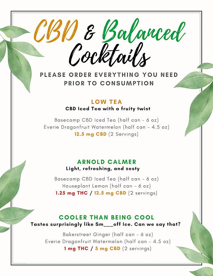 Cannabis Cocktail Tasting Lounge Pass (Liberty Village) image