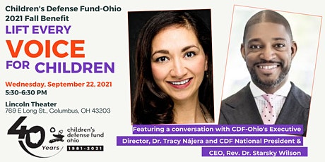 CDF-Ohio 40th Anniversary Benefit: Lift Every Voice for Children 2021 tickets
