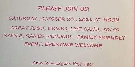 Breast Cancer Awareness-American Legion Post 180 tickets