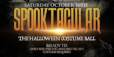 SPOOKTACULAR: THE HALLOWEEN COSTUME BALL ON THE YACHT tickets