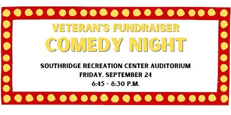 Veteran's Fundraiser Comedy Night tickets