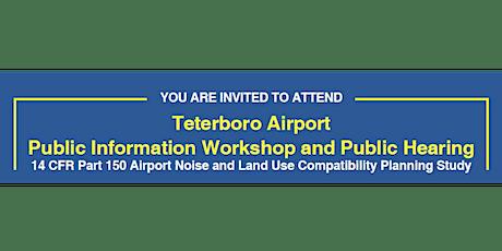 TEB Draft NCP Virtual Public Workshop and Public Hearing tickets