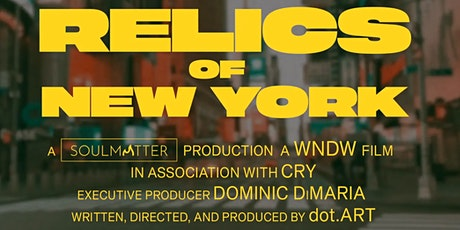 RELICS OF NEW YORK Special Preview Event tickets