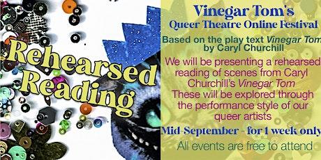 R&D SHARING - Vinegar Tom's Queer Theatre Festival tickets