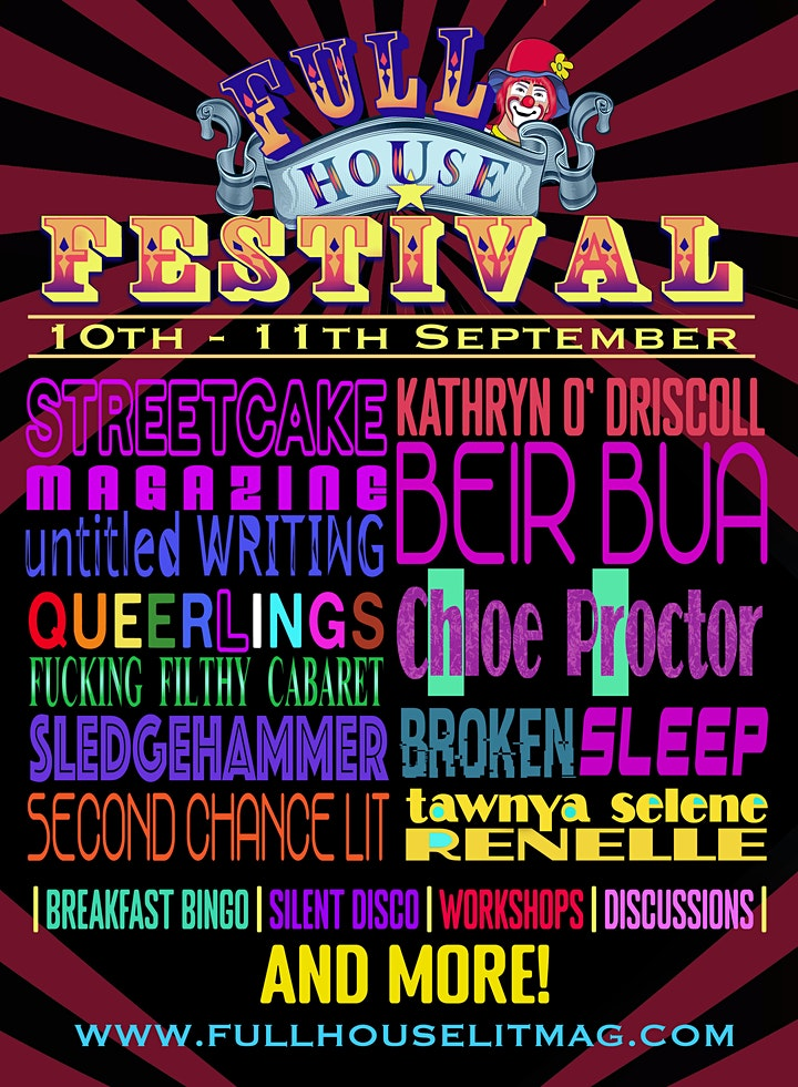 Full House Literary Festival image