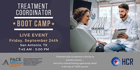 Treatment Coordinator Bootcamp - In person CE event tickets