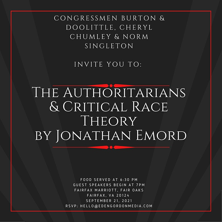 The Authoritarians and Critical Race Theory with Jonathan Emord image