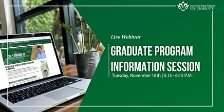 DSBA & HIA Graduate Programs Information Session tickets