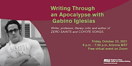 Writing Through an Apocalypse with Gabino Iglesias tickets