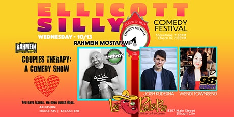 """Ellicott Silly Comedy Festival 2021 - """"Couples Therapy: A Comedy Show"""" tickets"""