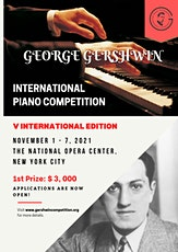 V Gershwin Music Competition - Semifinal Round - Chamber Ensembles tickets