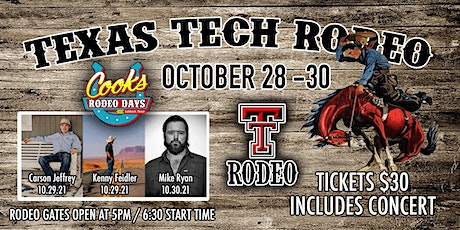 Texas Tech College Rodeo tickets