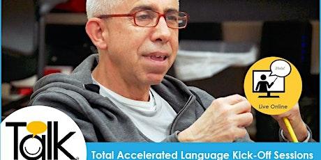 TALK in Spanish Live Online: Lower Beginners (Thursdays) tickets