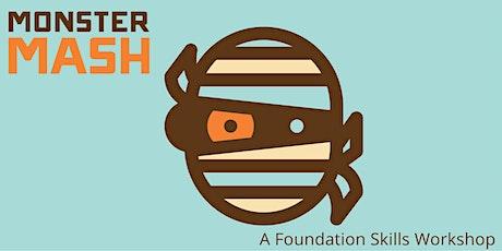 Foundation Adobe Photoshop and Illustrator • Monster Mash tickets