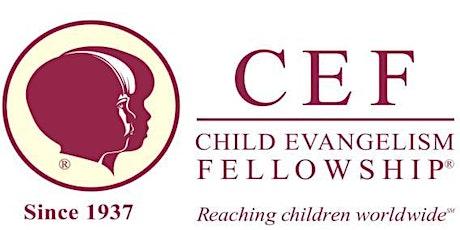 Child Evangelism Fellowship (CEF) Gala tickets