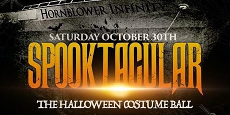 10/30-SPOOKTACULAR - A Halloween Costume Yacht party aboard the Hornblower tickets