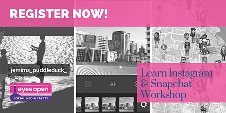 Get To Know Instagram & Snapchat Workshop for Adults - Wed 6th  Oct  2021 Tickets
