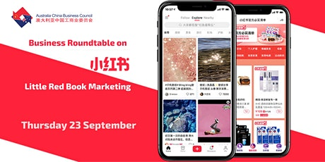 ACBC NSW Business Roundtable on Little Red Book (Xiaohongshu) Marketing tickets