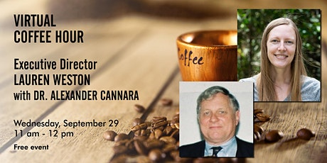 Coffee Chat with Acterra's Executive Director feat. Dr. Alex Cannara tickets