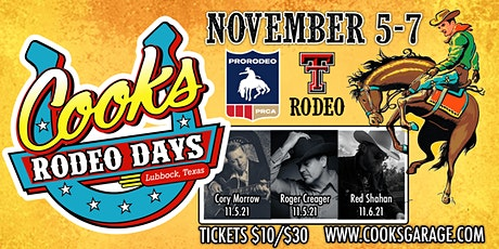Cook's Rodeo Days PRCA tickets