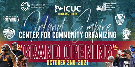 IE Center for Community Organizing Grand Opening tickets
