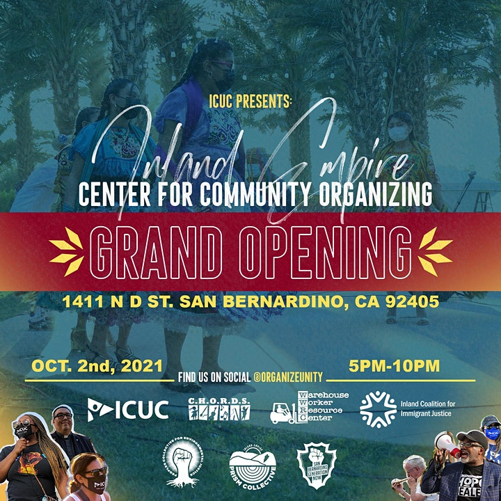 IE Center for Community Organizing Grand Opening image