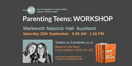 Parenting Teens - WORKSHOP tickets