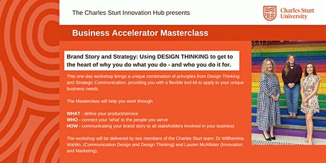Charles Sturt University - Business Accelerator Masterclass tickets