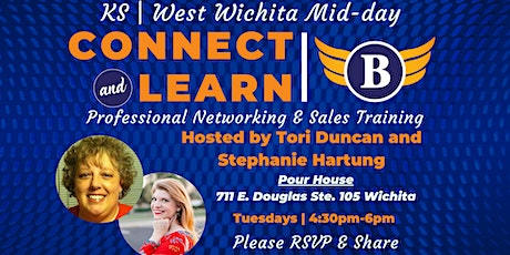 KS| West Wichita Mid-day Professional Networking & Sales Connect & Learn tickets
