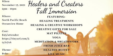 Healers and Creators Fall Immersion tickets