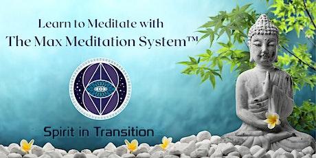 {Virtual}  The Max Meditation System™ tickets