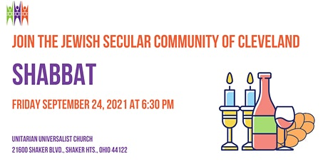 Shabbat Speaker Series with The Jewish Secular Community of Cleveland tickets