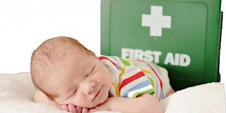 Paediatric First Aid & Sleep Safety tickets