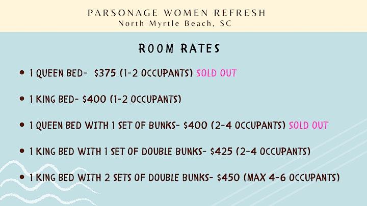 Parsonage Women Refresh -October 20-23, 2021 image
