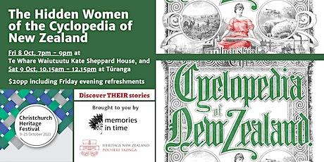 The Hidden Women of the Cyclopedia of New Zealand tickets