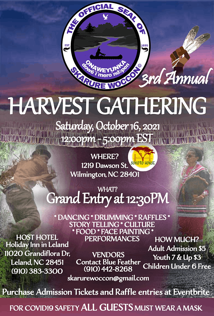 3rd Annual Skarure Woccon Harvest Gathering 2021 image