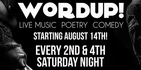 WORDUP! On The Weekend tickets