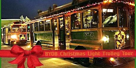 BYOB Christmas Light Trolley Tour 2021 tickets