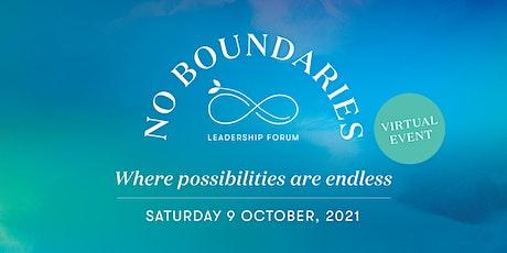 No Boundaries Leadership Forum tickets