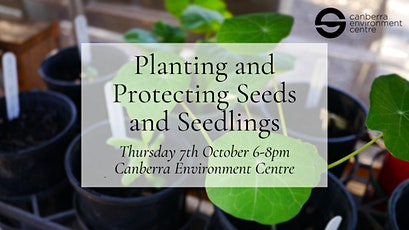 Planting and Protecting Seeds and Seedlings tickets