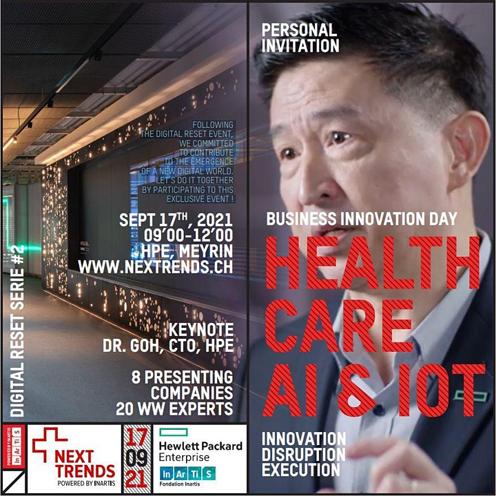 [Digital Reset] Healthcare : AI & IOT image