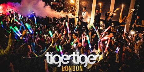 Tiger Tiger London // Every Wednesday // 6 Rooms // Drink deals and More! tickets