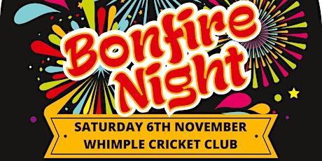 Bonfire Night 2021 - Whimple Cricket Club tickets