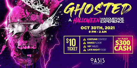 ✖︎ GHOSTED ✖︎ A Halloween Masquerade Experience tickets