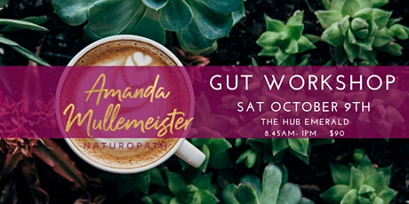 GUT WORKSHOP - EMERALD Saturday October 9th 2021 tickets