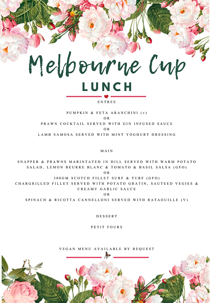 Melbourne Cup Luncheon image
