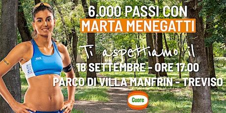 6.000 passi con Marta Menegatti e Cuore a Treviso biglietti