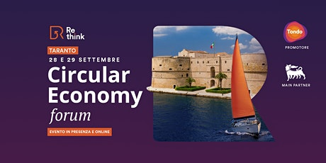Re-think Circular Economy Forum | Taranto 2021 tickets